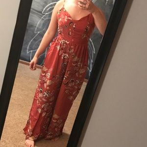 Fun patterned jumpsuit for any season
